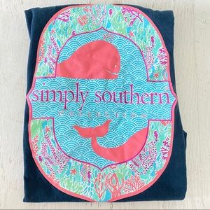 SIMPLY SOUTHERN Short sleeve graphic SZ S